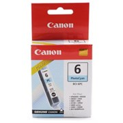 Чернильница Canon Bci-6Pc Photo Cyan Для S800 Series, S900/ 9000,Bjc-8200Photo